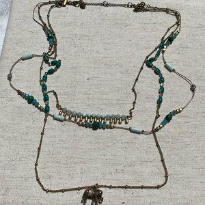 🐘 NWT C+I Mystic Mandala Elephant Necklace